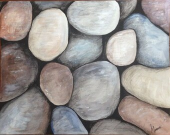 Watercolor Rocks