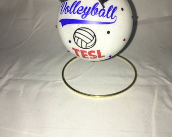 Volleyball ornament, Volleyball, Volleyball players, Volleyball team, Volleyball moms, Volleyball coaches, Volleyball gift