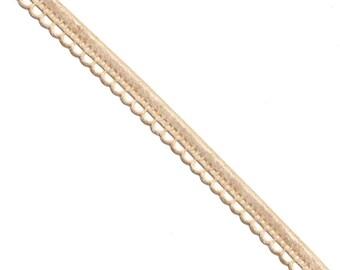15 Yards Cut Out Pattern Velvet Ribbon