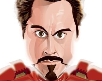 Tony Stark/Iron Man Journal Book