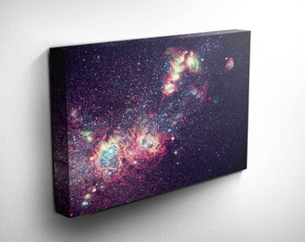 Hubble Known Universe Galaxy Wall Print Space Explorer Astronomy Gifts Him Astronomy Gifts Her Space Prints Galaxy Print Art