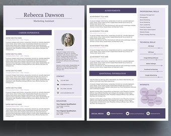 curriculum vitae with references