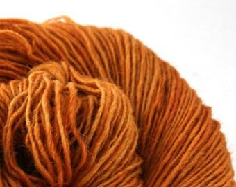 Olana fingering weight cormo alpaca angora blend yarn 300yds/274m 2oz/57g Ochre