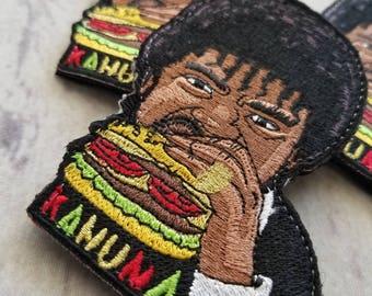 Big Kahuna burger embroidered morale patch