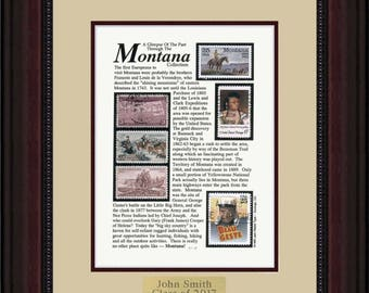 MONTANA 8352 - Personalized Framed Collectible (A Great Gift Idea)
