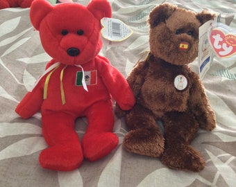 Lot of 2 beanie babies