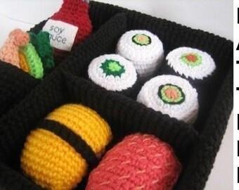 Play Food Crochet Pattern - Sushi