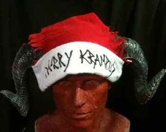 Merry Krampus - santa hats