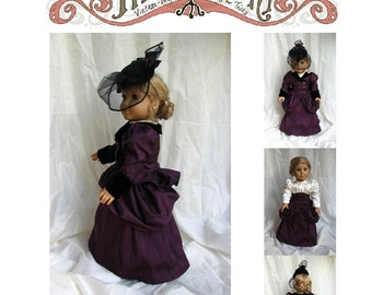 Victorian Walking Ensemble 18in Doll Pattern