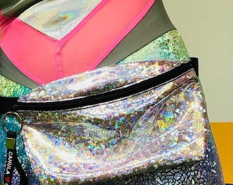 Shiny Disco Bum Bag