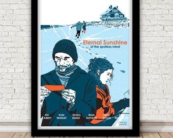 Eternal Sunshine of the spotless mind - Michel Gondry - print - 2004