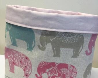 Panier, panier de rangement tissu, panier de rangement, cadeau, rangement maison pour bébé