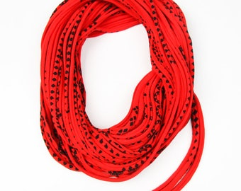 Wife Gift, Gift for Mom, Gift For Mother, Girlfriend Gift, Red Cowl, Gift Ideas, Infinity Scarves, Presents for Mom, Presents for Mom