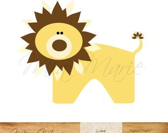lion clip art silhouette digital animal image graphic rh etsy com clipart lion king clip art lions pride