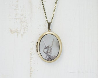 Cupid and Psyche Photo Locket | Paris Jewelry | Photography | Brass Oval Locket | Necklace | Pendant | Louvre Necklace Love