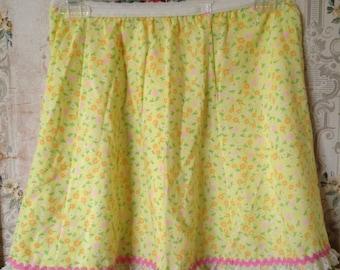 Girls Her Majesty floral skirt