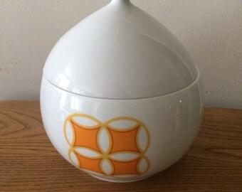 Ben Seibel Mikasa Tangents Lidded Jar