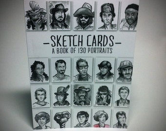 Sketch Cards - Book of 130 Portraits