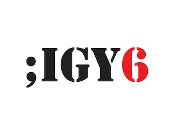 IGY6 Military Multi Use Two Colors Decal