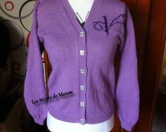 Card 12 Violetta waistcoat