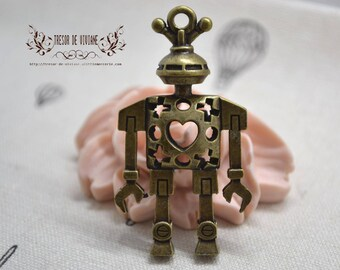 QDW075 robot pendant, bronze