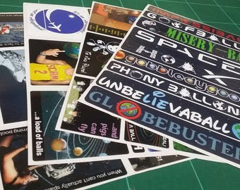 Flat Earth Meme Stickers : Collection 2
