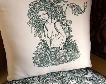 The Wonderer, Handmade Cushion