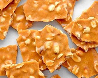 Vegan peanut brittle