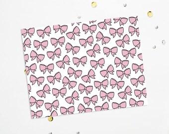 PRINTABLE Sheet - Mochi Bows