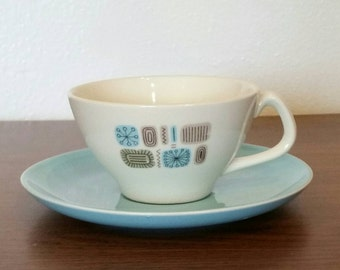 Temporama Durogloss Cup and Saucer