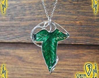 Necklace Ivy Leaf