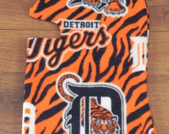 Boys Ski Mask/Balaclava/ Polar Fleece Mask/ Fleece Mask/ Ski Mask/ Detroit Tigers Ski Mask/Detroit Tigers Balaclava/ Detroit Tigers Hat