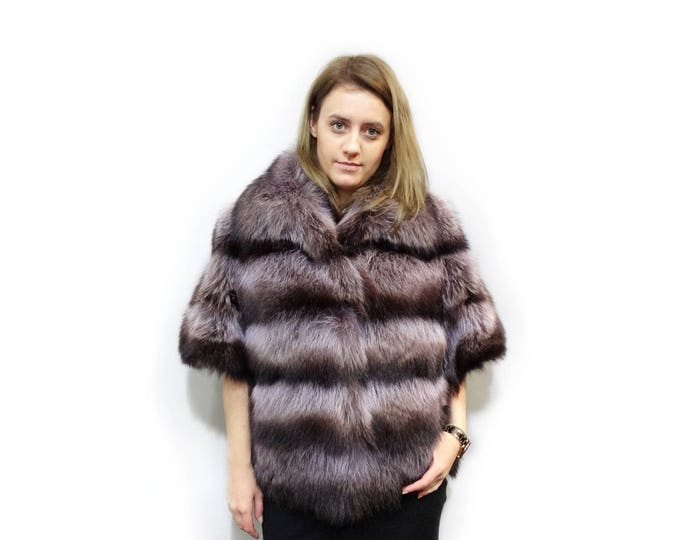 Real Fur Raccoon Jacket,Short Sleeve Jacket,Real Fur Jacket F399