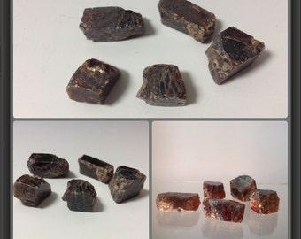 Zircon from Tanzania - 5 stones