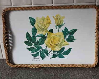 Lovely Floral Shabby Chic Tray