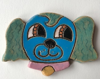 Blue Cuteware Pup Medallion