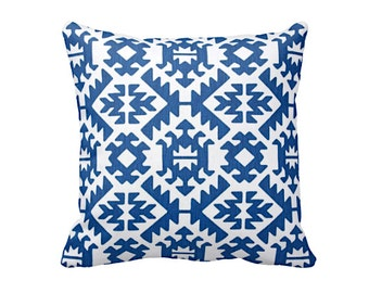 SALE | 30% OFF: Cobalt Blue Pillow Covers Royal Blue Pillows Cobalt Throw Pillow Covers Tribal Pillows Aztec Pillows Blue Decorative Pillow
