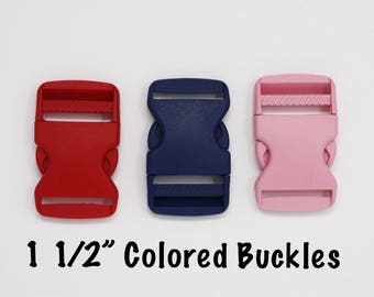 """Colored Buckles Add-on   Size: 1 1/2"""" Width"""