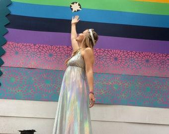 Magic Opal Rainbow Dress