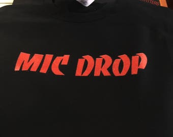 Mic Drop // BTS Kpop Crewneck Sweatshirt