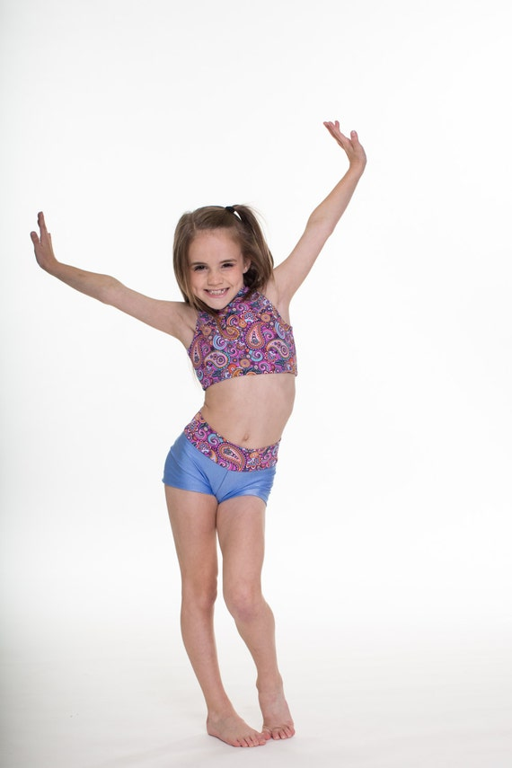 Girl dancing in booty shorts
