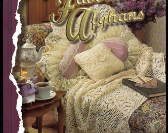Annie's favorite Afghans To Crochet / Annie's Attic Hardcover Pattern Book