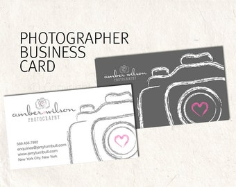 Photography business card business card design sketched photography business card design for photographer sketched camera business card 2 psd files supplied fbccfo Images