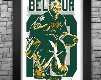"ED BELFOUR 11x17"" art print."