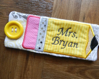 Personalized Mug Wrap for Teacher