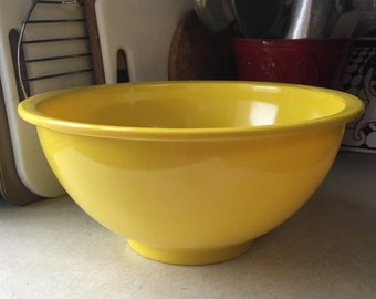 Solid Yellow Texas Ware 118 Bowl