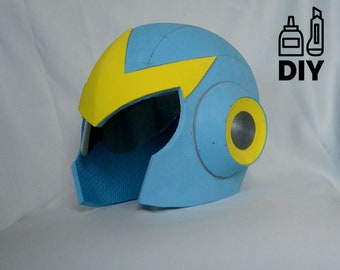 DIY Proto Man helmet template for EVA foam