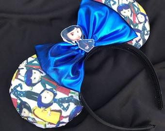 Coraline Inspired Ears