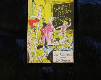 Vintage Worst Room in the School 1961 Young Readers Press Paperback Book