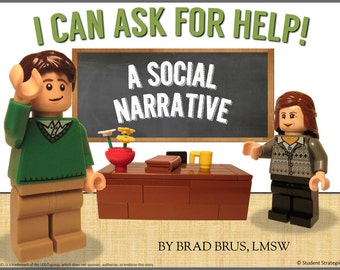 I Can Ask For Help!  Social Narrative - Social Story - Autism